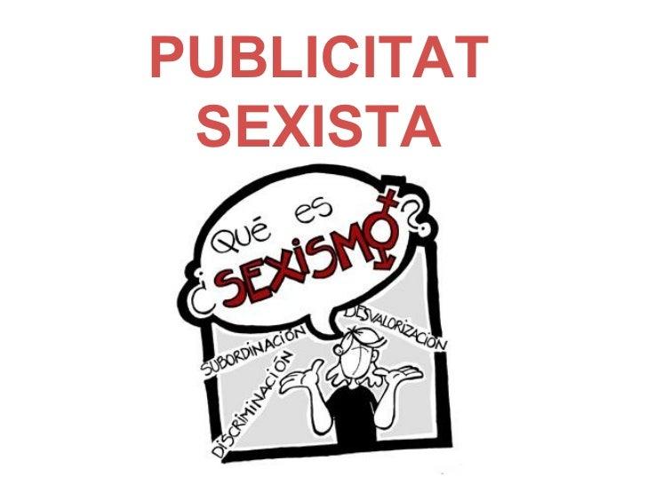 Publicitat sexista