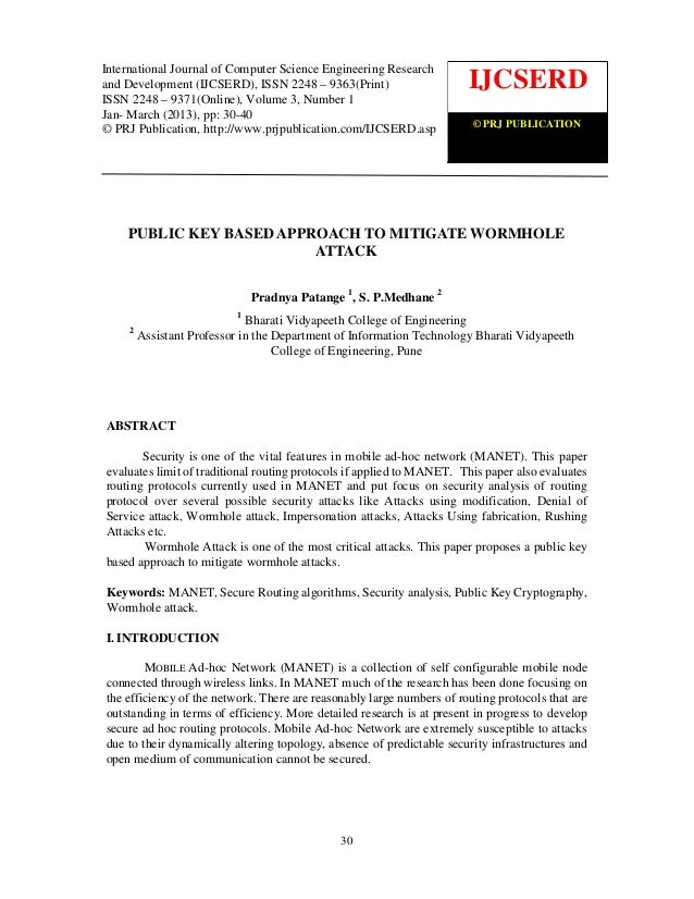 International Journal of Computer Science Engineering Research                                                            ...
