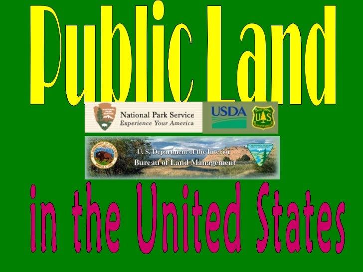 Public lands