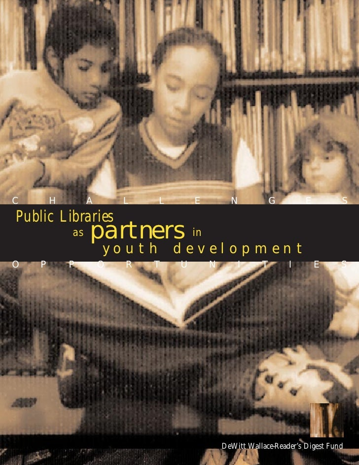 Public Librariesas Partnersin Youth Development
