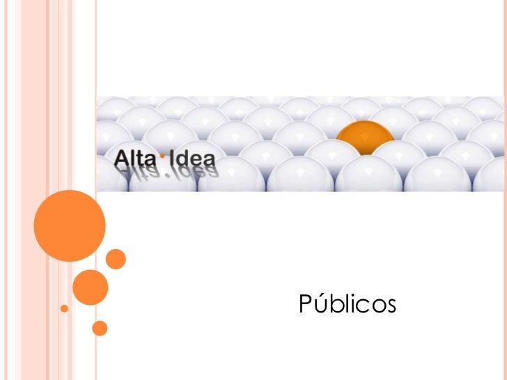 Publico en Relaciones Públicas