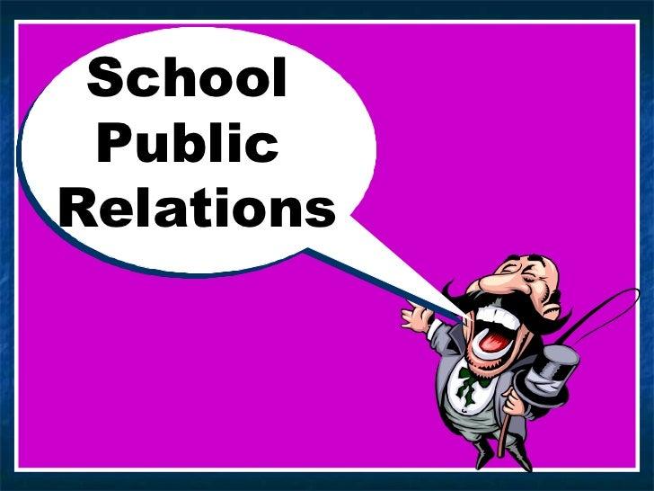 School  Public  Relations