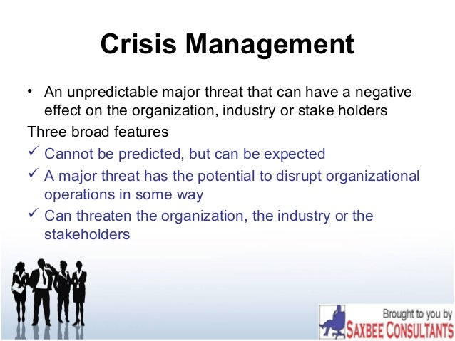 managing a crisis using public relations 2 devise a strategy and brief your team protocol is essential to the proper management of your crisis communications efforts sabina gault, ceo of konnect public relations, said each member of.