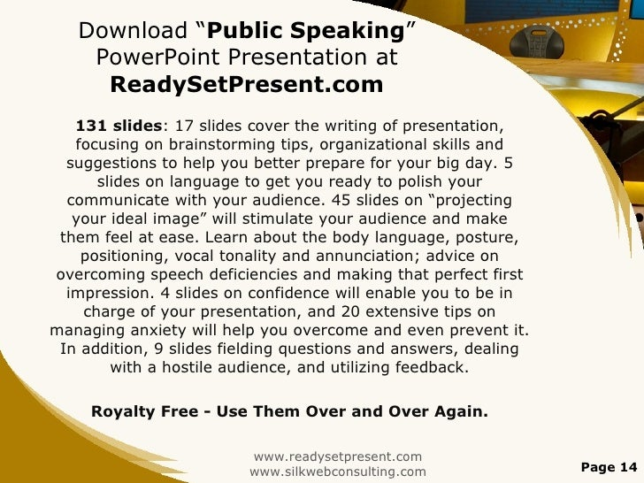 How to write a speech for public speaking