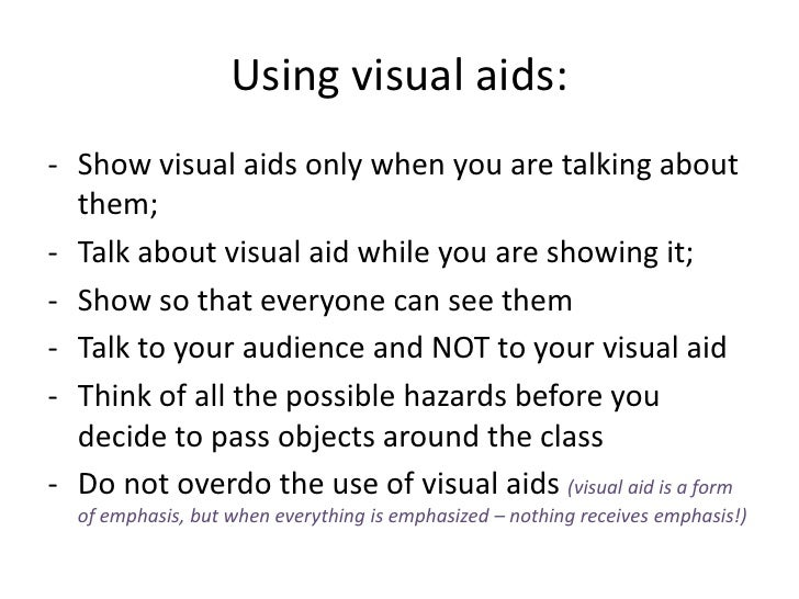 thesis about visual aids Start studying speech final 1 learn vocabulary which organizational pattern is illustrated in the following thesis add this to your visual aids to.