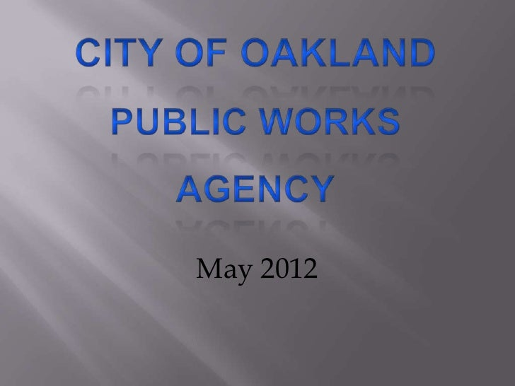 Public Works Week 2012 slideshow