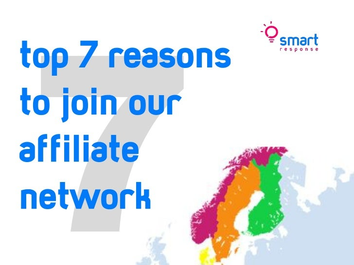 top 7 reasonsto join ouraffiliatenetwork