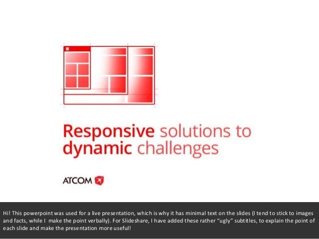 Responsive design 101