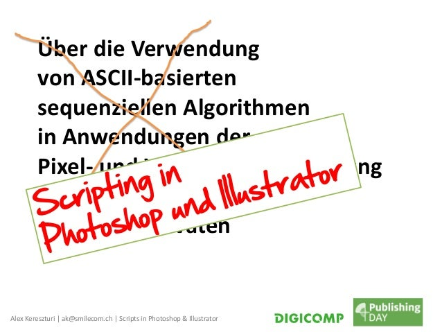 Spannende Scripts in Adobe Photoshop und Illustrator