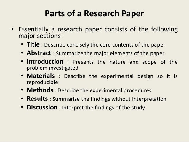 How would I go about publishing a research paper?