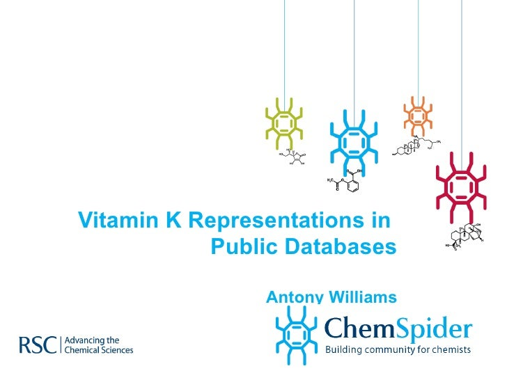 Structure Representations of Vitamin K1 in Online Databases