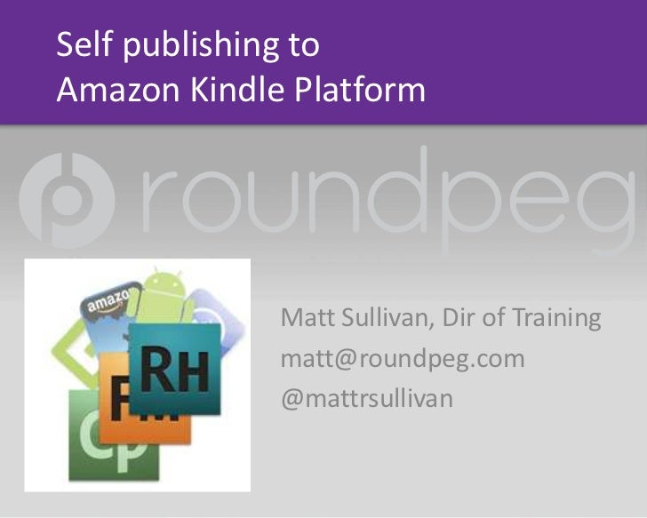Publshing to amazon kindle and apple i bookstore