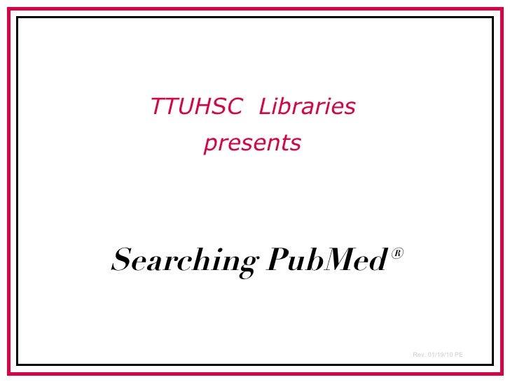 PubMed's MeSH Database