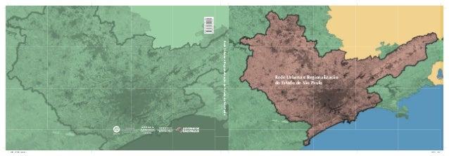 Rede Urbana e Regionalização do Estado de São Paulo                                                                       ...
