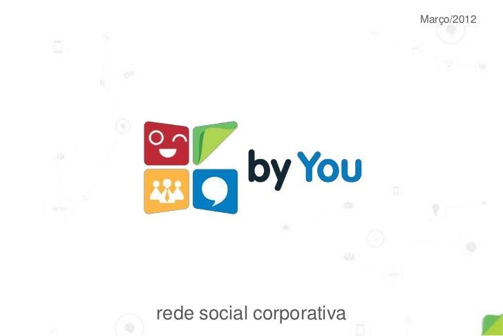 Março/2012rede social corporativa
