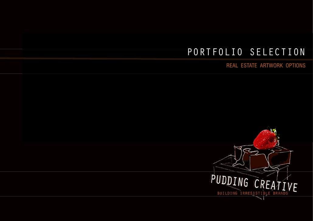 PORTFOLIO SELECTION      REAL ESTATE ARTWORK OPTIONS