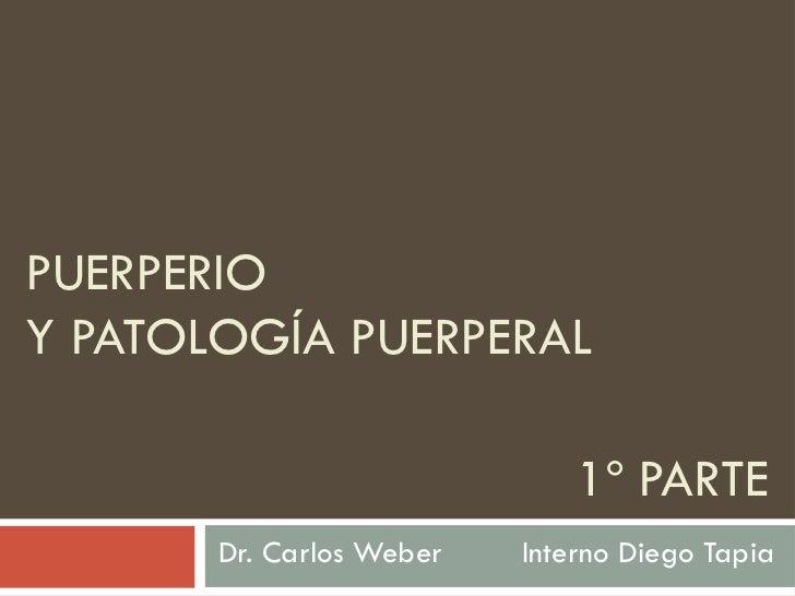 Puerperio y patologías puerperales