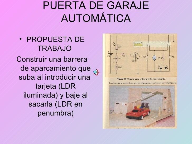 Puerta de garaje autom tica - Puerta de garaje automatica ...