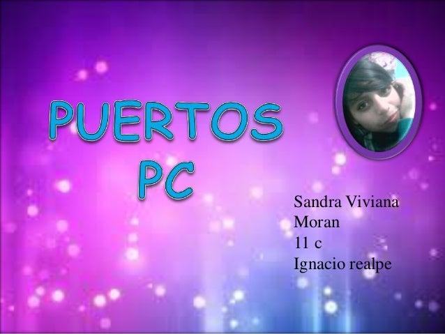 Sandra VivianaMoran11 cIgnacio realpe