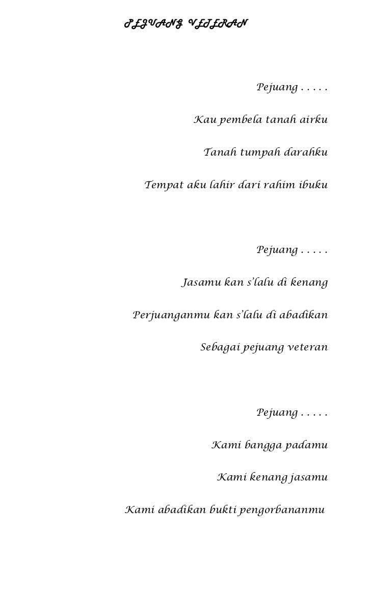 Puisi pejuang