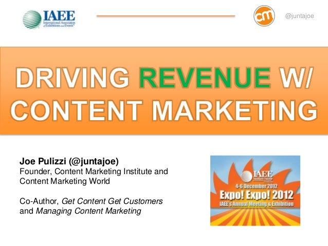 Content Marketing for Events