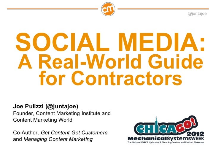 The Real-World Guide to Social Media for Contractors