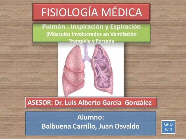 FISIOLOGÍA MÉDICAASESOR: Dr. Luis Alberto García González              Alumno:                                           G...
