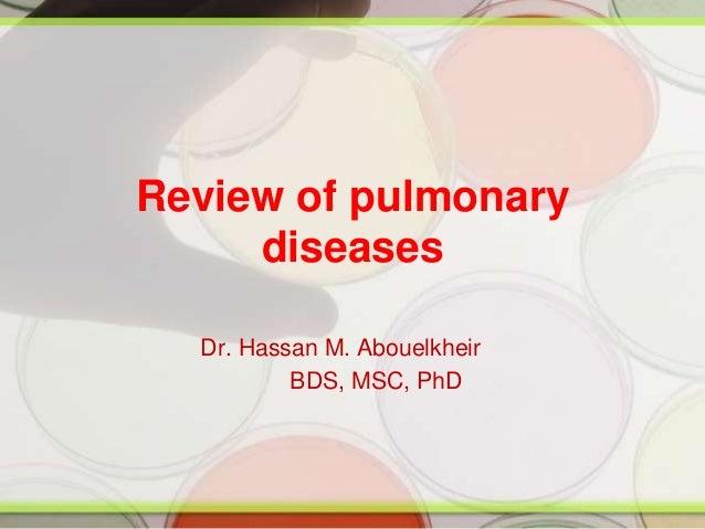 Pulmonary Diseases 2009 copy
