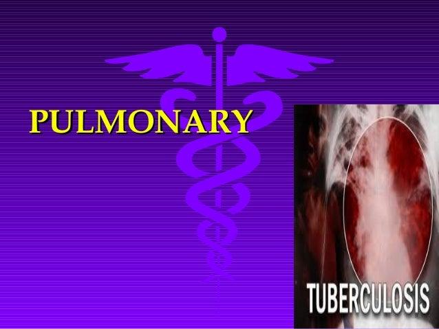 PULMONARYPULMONARY