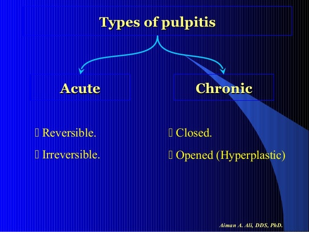 chronic hyperplastic pulpitis images