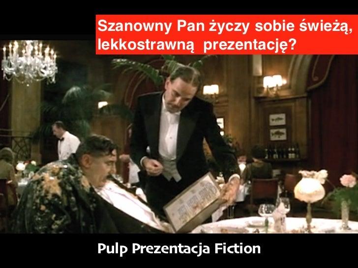 Pulp prezentacja fiction concordia design