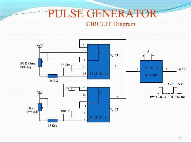 pulse generator block diagram – readingrat, Wiring block