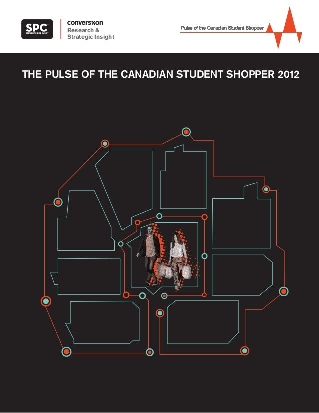 THE PULSE OF THE CANADIAN STUDENT SHOPPER 2012