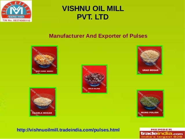 Organic Pulses Exporter, Manufacturer,Jodhpur Rajasthan