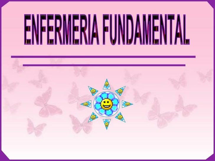 ENFERMERIA FUNDAMENTAL