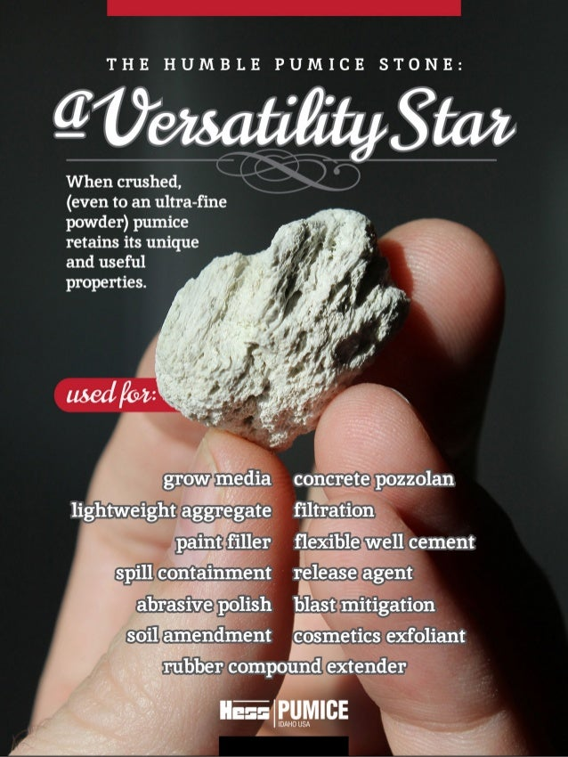 The Pumice Stone: A Versatility Star