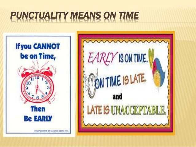 essay on importance of being punctual