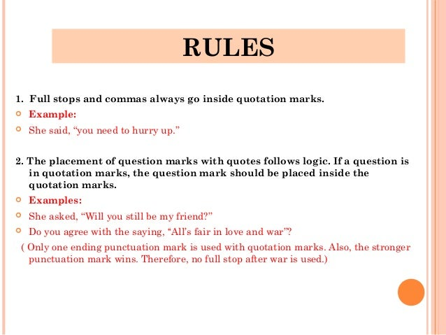 Can I use quotation marks in my essay to show importance?