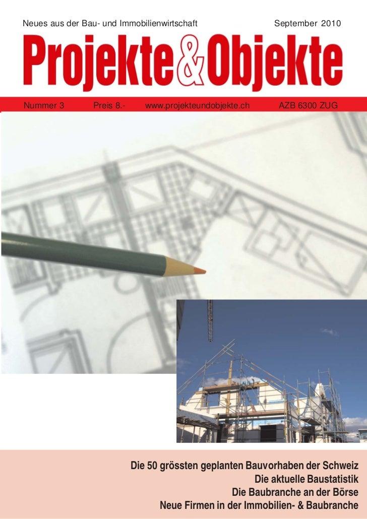 Projekte & Objekte  03 2010