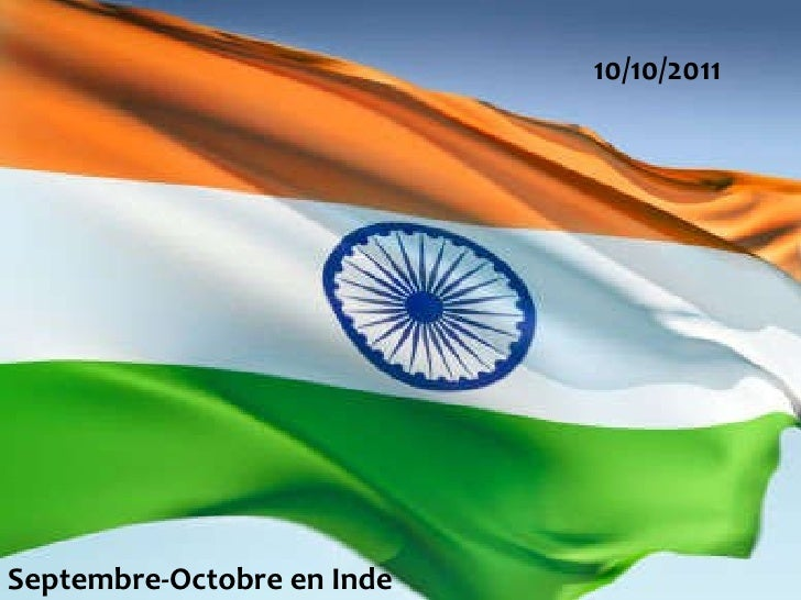 10/10/2011 Septembre-Octobre en Inde
