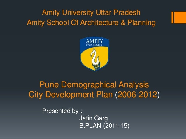 Demographic Analysis of Pune