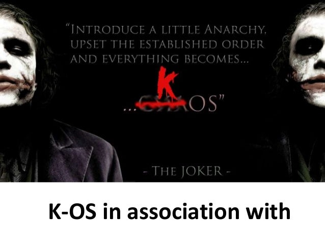 K-OS in association with