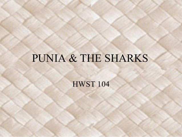 PUNIA & THE SHARKS      HWST 104