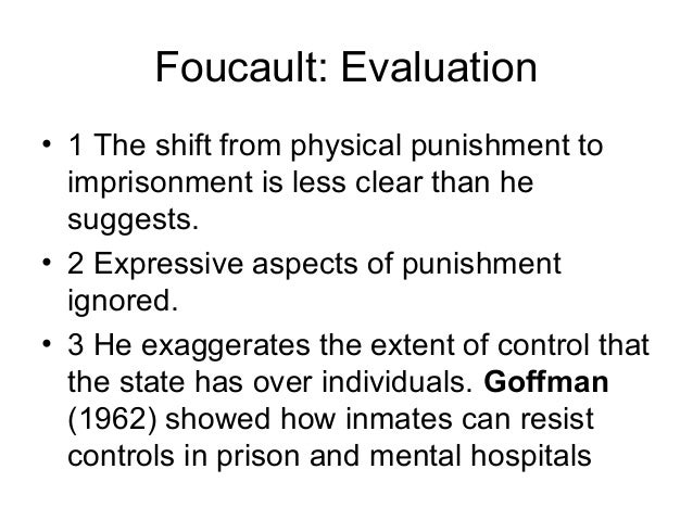 foucault and goffman similarities Their differences and similarities varied amongst not only their careers but also their words: 1064 - pages: 5  (goffman and foucault) main content  goffmans .