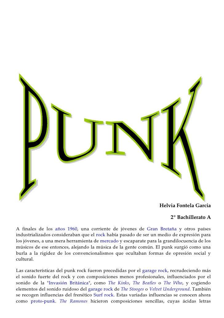 Punk.Helvia Fontela Doc