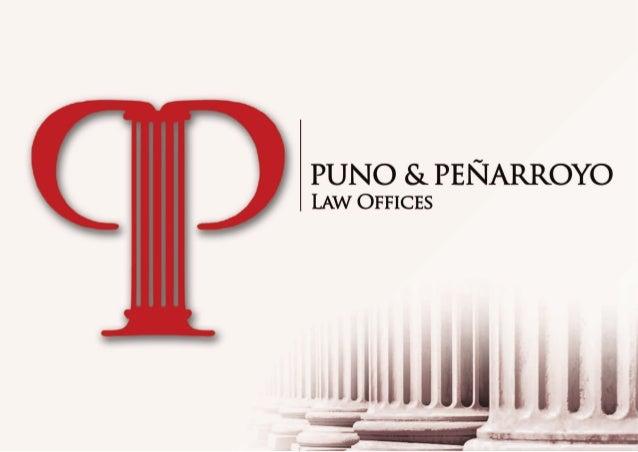 Puno Penarroyo Law
