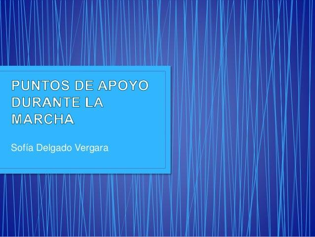 Sofía Delgado Vergara