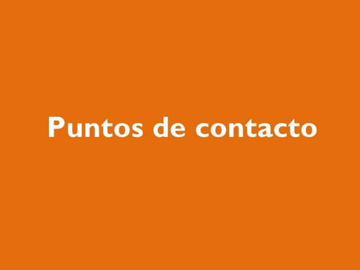Puntos de contacto
