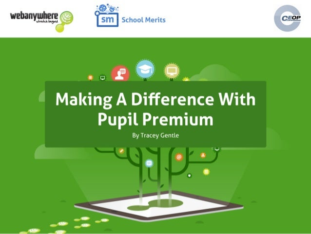 Making a difference with Pupil Premium Webinar