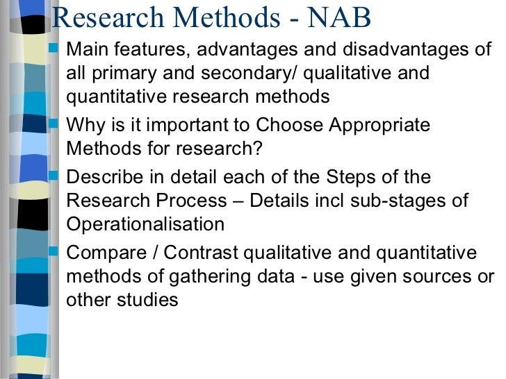 compare and constrast qualitative and quantitative research methods essay